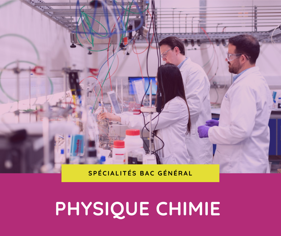 spécialité physique chimie