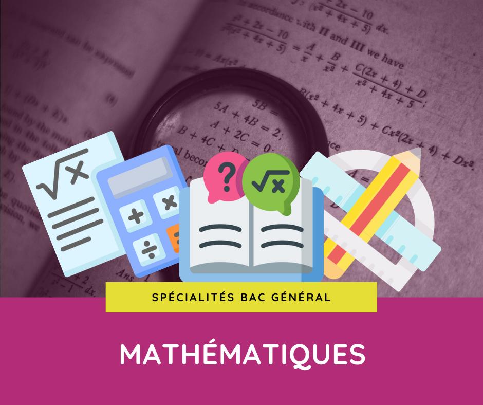 Spécialités mathématiques en première